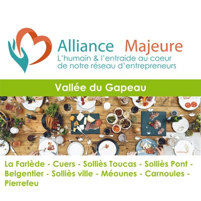 Repas Alliance Majeure Vallée du Gapeau 01/12/2020