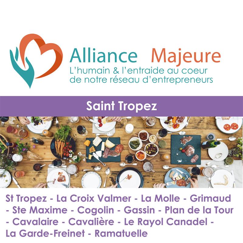 Repas Alliance Majeure Golfe de Saint Tropez du 01/12/2020